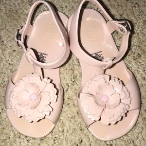 🌸Old Navy Blush colored Jelly Sandals🌸